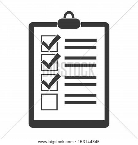 Document icon in black style isolated on white background. Logistic symbol vector illustration.