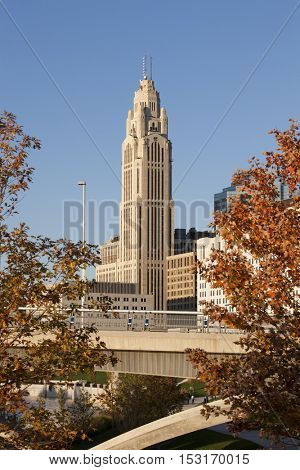 The historic LeVeque Tower is being renovated to include a boutique hotel and condominiums.