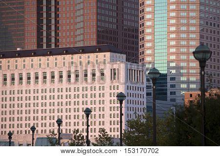 Downtown buildings in Columbus, Ohio