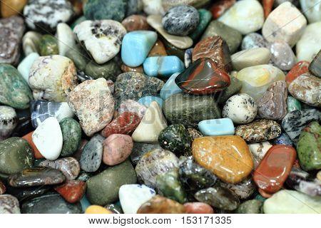 Natural Color Gems Background