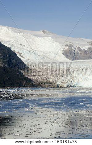 Chile - Amalia Glacier On The Edge Of The Sarmiento Channel - Skua Glacier - Bernardo O'Higgins National Park