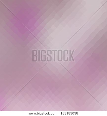 Purple color geometric rumpled background. Low poly style gradient illustration. Graphic background.