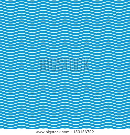 Vector wave pattern. Blue seamless wavy line pattern vector illustration. The stylized background from sea waves. Waves background. Wave pattern background. Wave sea background. Blue waves background.