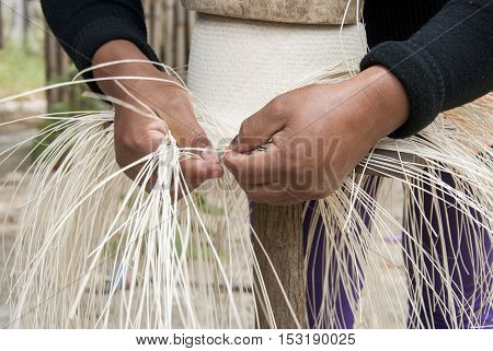 Traditional Weaving Of Ecuadorian Toquilla Straw Hats - UNESCO Intangible Cultural Heritage of Humanity
