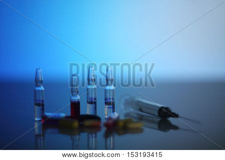 Syringe And Ampoules