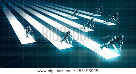 Purpose Driven Workforce Management Strategy Labor Force 3D Illustration Render