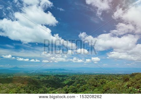 Managua City During Sunny Day