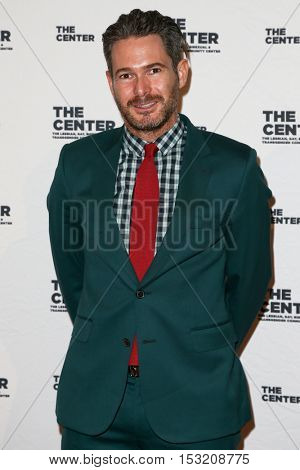 NEW YORK-APR 2: Event planner Bronson Van Wyck attends the 2015 Center Dinner at Cipriani Wall Street on April 2, 2015 in New York City.