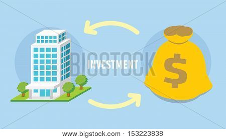 money property investment concept vector illustration design