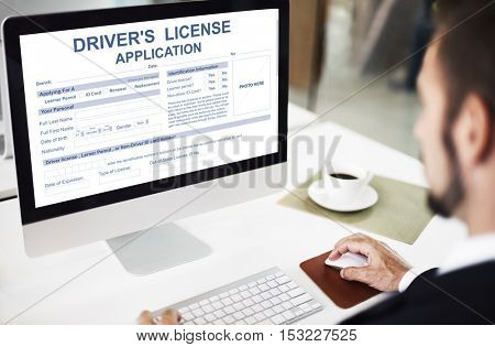 Driver's License Application Identification Concept