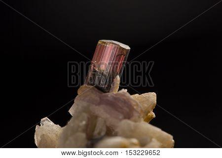 The Tourmaline specimen, beauty gem an geology