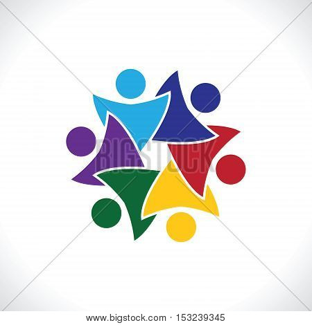 Teamwork Meeting 6  Vector & Photo (Free Trial) | Bigstock