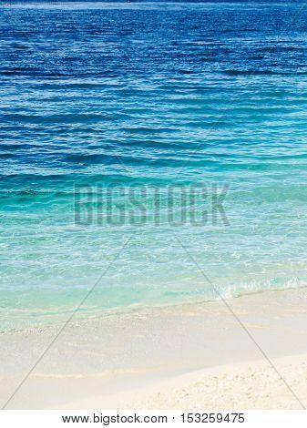 Blue Sea Or Ocean Water