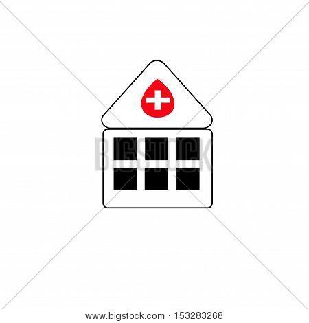 Hospital icon Hospital icon Hospital icon Hospital icon