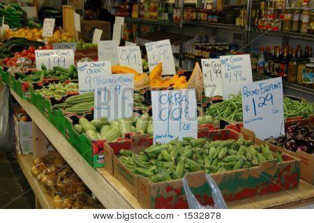 Veggies At Farmers Market 2