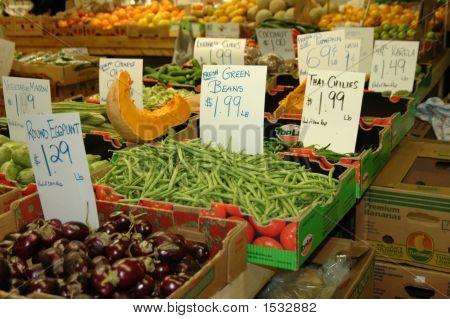 Veggies At Farmers Market 3