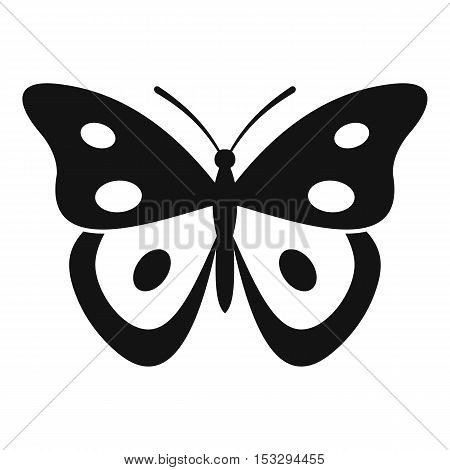 Butterfly pierid icon. Simple illustration of butterfly pierid vector icon for web