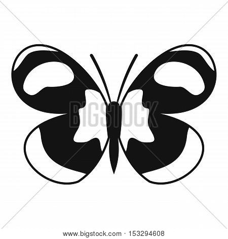 Spotted butterfly icon. Simple illustration of spotted butterfly vector icon for web