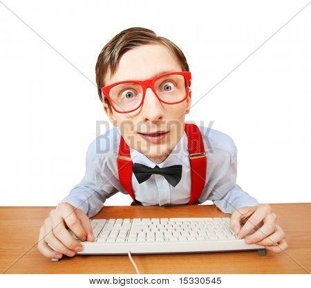 Browsing internet