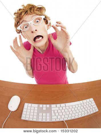 Sorprendió en línea