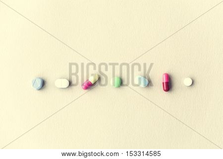 Medicine Pill Capsules Tablet Drug Prescription Concept