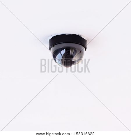 Security IR camera for monitor events in building.