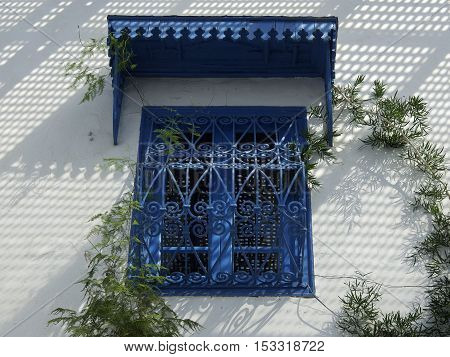 sidi bou said near Tunis in africa