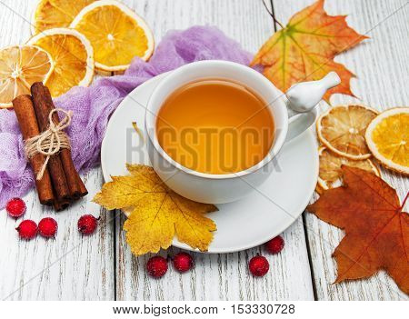Hot Tea With Spices