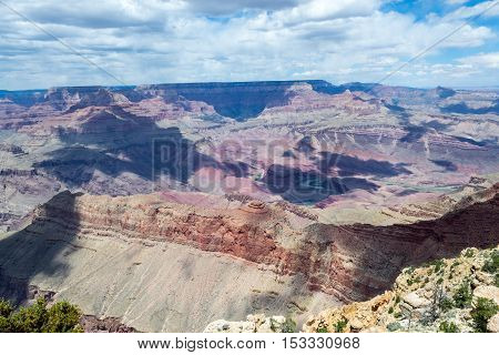Overlooking The Grand Canyon