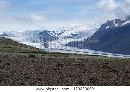 Skaftafellsjokull Glacie One Of The Most Impresive Of Iceland