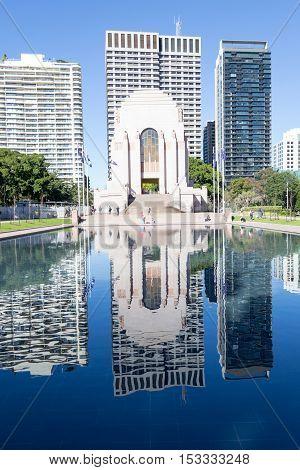 Wwi Memorial In Sydney