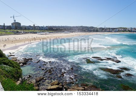 Famous Bondai Beach In Sydney