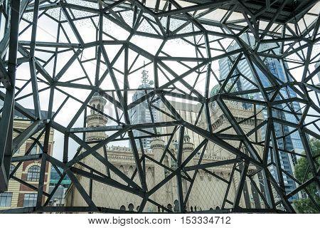 Forum Theatre Building In Melbourne