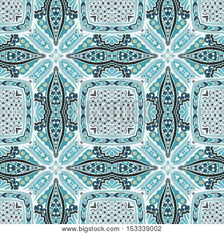 abstract geometric  ethnic seamless vector pattern ornamental. Hand drawn doodle graphic print
