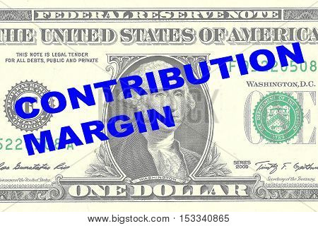 Contribution Margin Concept