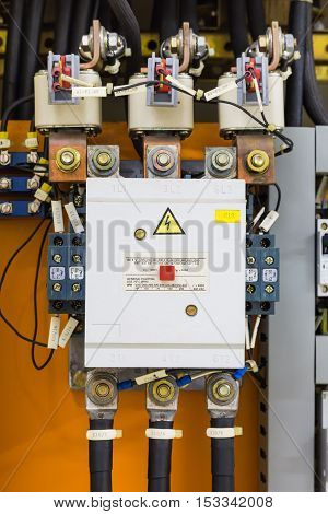 Three Phase Magnetic Contactor And Fuses