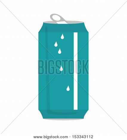 can soda drink isolated icon vector illustration design