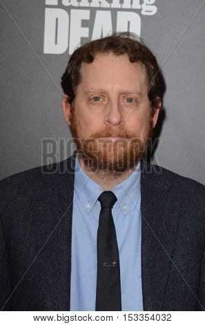 LOS ANGELES - OCT 23:  Scott M. Gimple at the AMC's Special Edition of