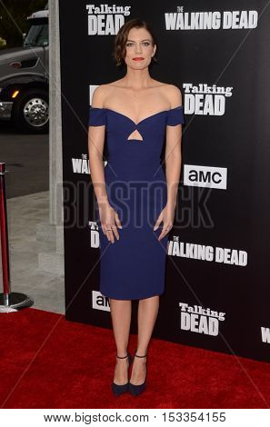 LOS ANGELES - OCT 23:  Lauren Cohan at the AMC's Special Edition of