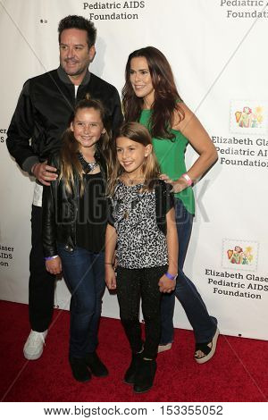 LOS ANGELES - OCT 23:  Rosa Blasi, Family at the Elizabeth Glaser Pediatric AIDS Foundation A Time For Heroes Event at Smashbox Studios on October 23, 2016 in Culver City, CA
