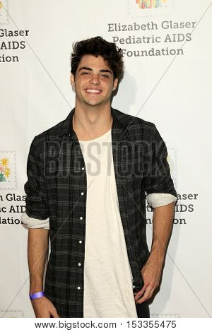 LOS ANGELES - OCT 23:  Noah Centineo at the Elizabeth Glaser Pediatric AIDS Foundation A Time For Heroes Event at Smashbox Studios on October 23, 2016 in Culver City, CA