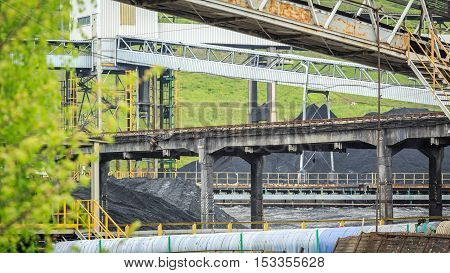 Mining Infrastructure In Silesia, Poland