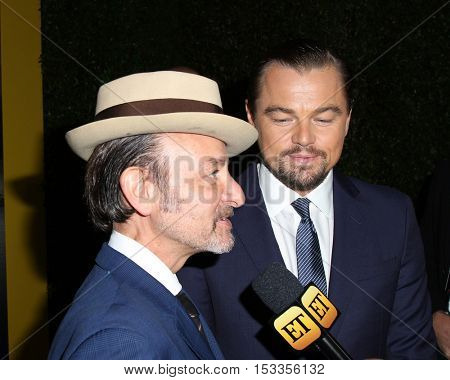 LOS ANGELES - OCT 24:  Fisher Stevens, Leo Dicaprio at the Screening Of National Geographic Channel's