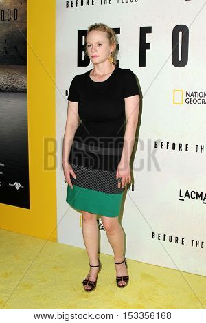 LOS ANGELES - OCT 24:  Thora Birch at the Screening Of National Geographic Channel's