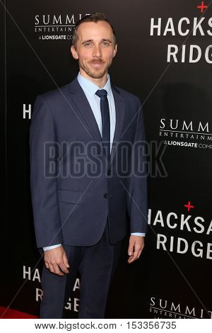 LOS ANGELES - OCT 24:  Benedict Hardie at the