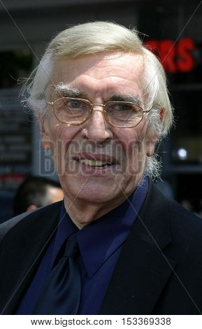 Martin Landau at the Los Angeles premiere of 'Charlie and the Chocolate Factory' held at the Grauman's Chinese Theatre in Hollywood, USA on July 10, 2005.