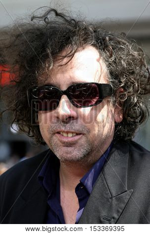 Tim Burton at the Los Angeles premiere of 'Charlie and the Chocolate Factory' held at the Grauman's Chinese Theatre in Hollywood, USA on July 10, 2005.