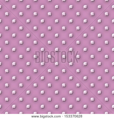 Pink plate with metall balls points texture or background