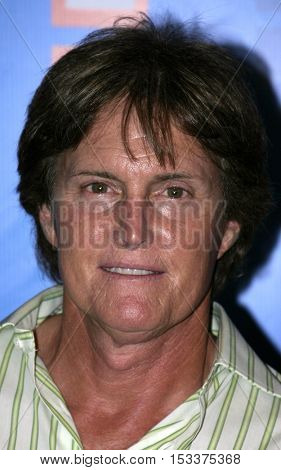 Bruce Jenner (Caitlyn Jenner) at the E! Entertainment Television's Summer Splash Event held at the Hollywood Roosevelt Hotel's Tropicana Club in Hollywood, USA on August 1, 2005.