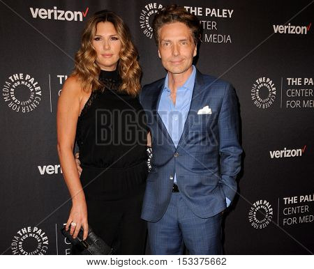 Daisy Fuentes and Richard Marx at the Paley Center for Media's Hollywood Tribute to Hispanic Achievements in Television held at the Four Seasons Hotel in Beverly Hill, USA on October 24, 2016.